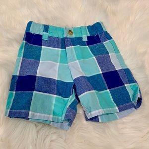 Janie and Jack Plaid Shorts